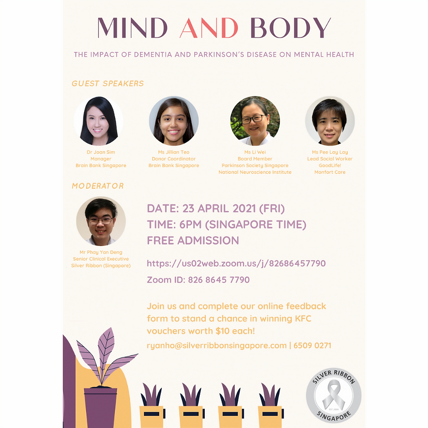 Mind And Body by Silver Ribbon (Singapore)