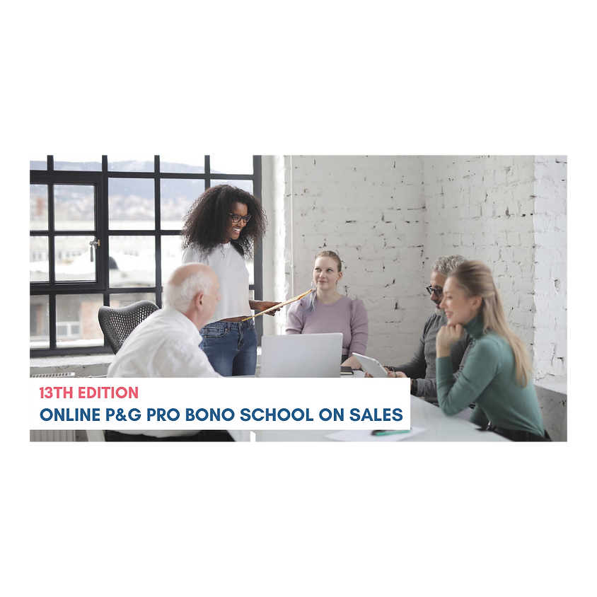P&G Pro Bono School: Persuasive Pitching for your Social Organisation