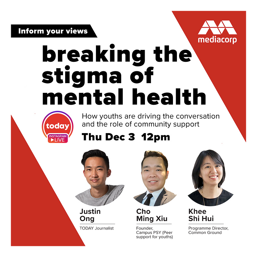 TODAY Instagram Live Series: Breaking the stigma of mental health