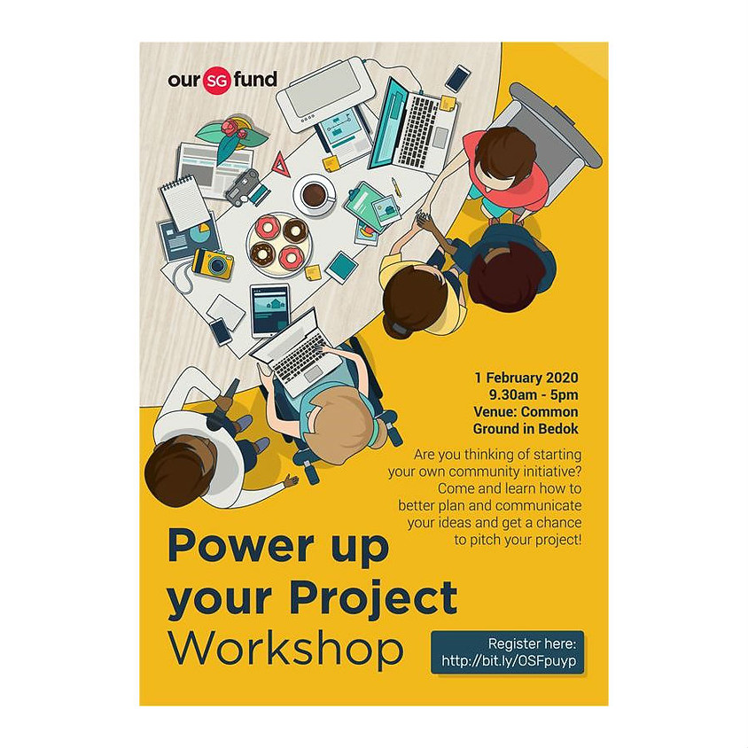 Our Singapore Fund: Power Up Your Project Workshop