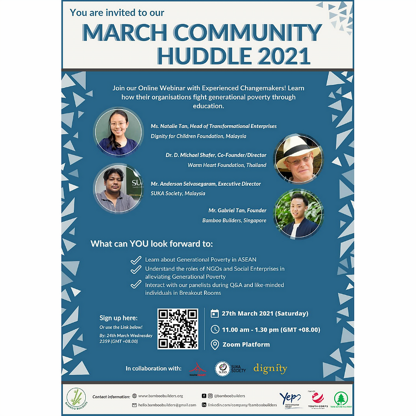 Bamboo Builders Community Huddle March 2021
