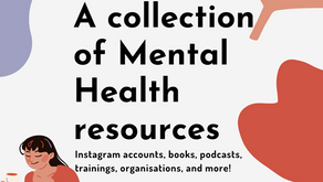 Social Media Advocacy #1: A collection of Mental Health resources