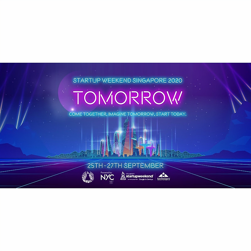 Startup Weekend Singapore 2020: Tomorrow