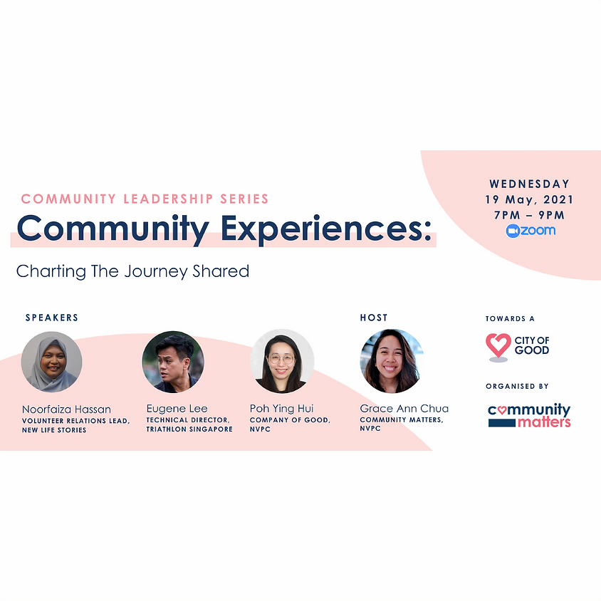 Community Experiences: Charting The Journey Shared
