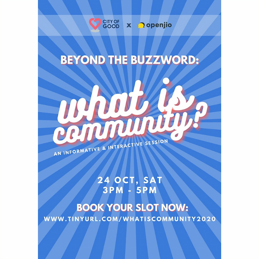Beyond The Buzzword: What is Community?