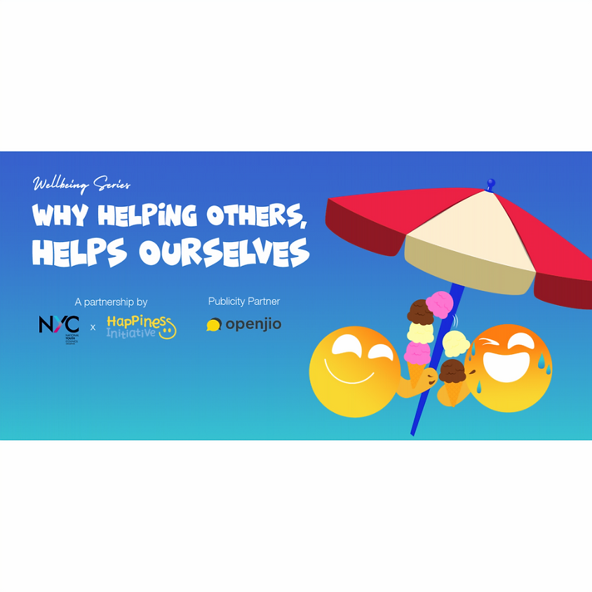Well-being Series: Why Helping Others, Helps Ourselves
