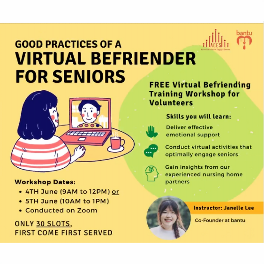 Good Practices of A Virtual Befriender for Seniors (2)