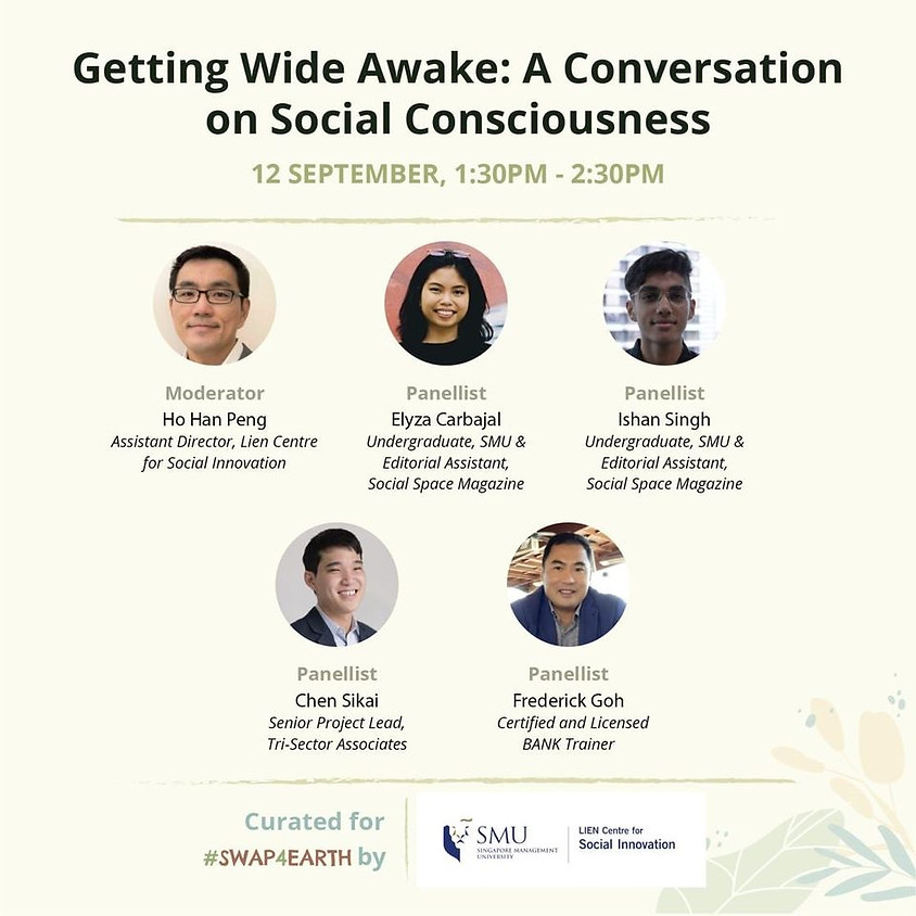 Get Wide Awake: A Conversation on Social Consciousness by Lien Centre for Social Innovation