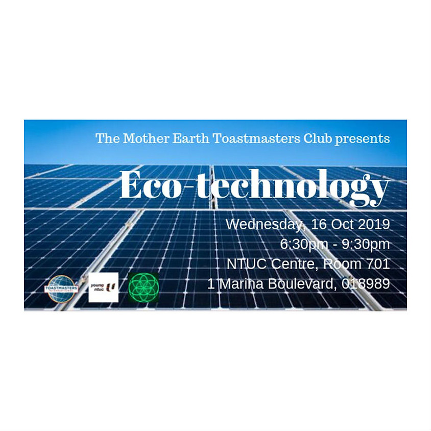 Mother Earth Toastmasters Club: Eco-Technology