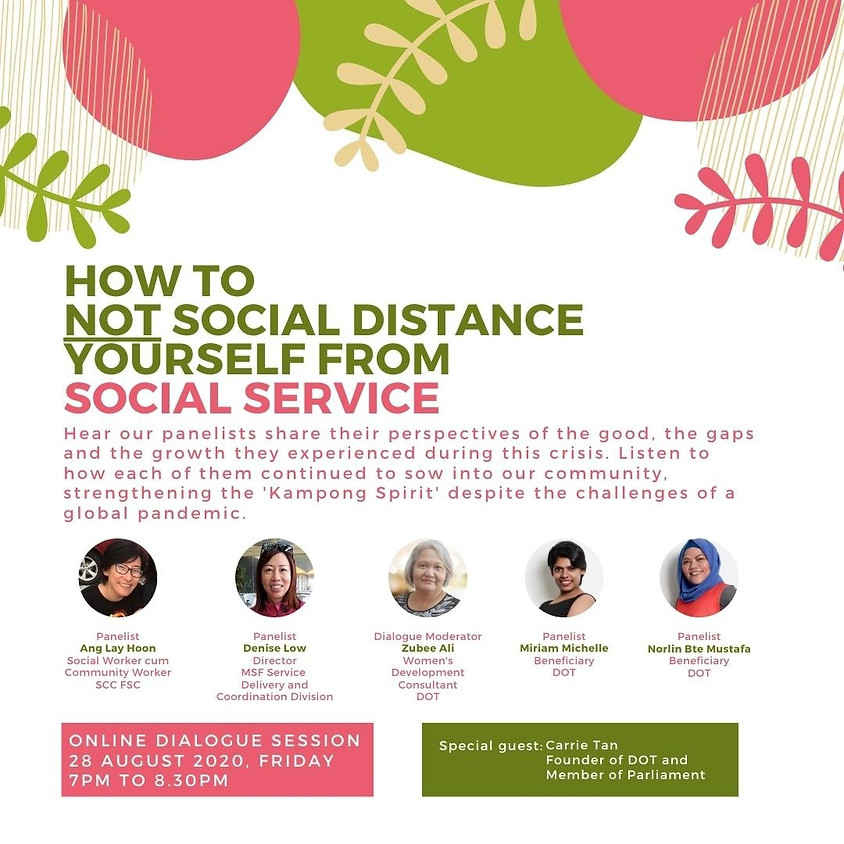How to Not Social Distance Yourself from Social Service, by Daughters of Tomorrow