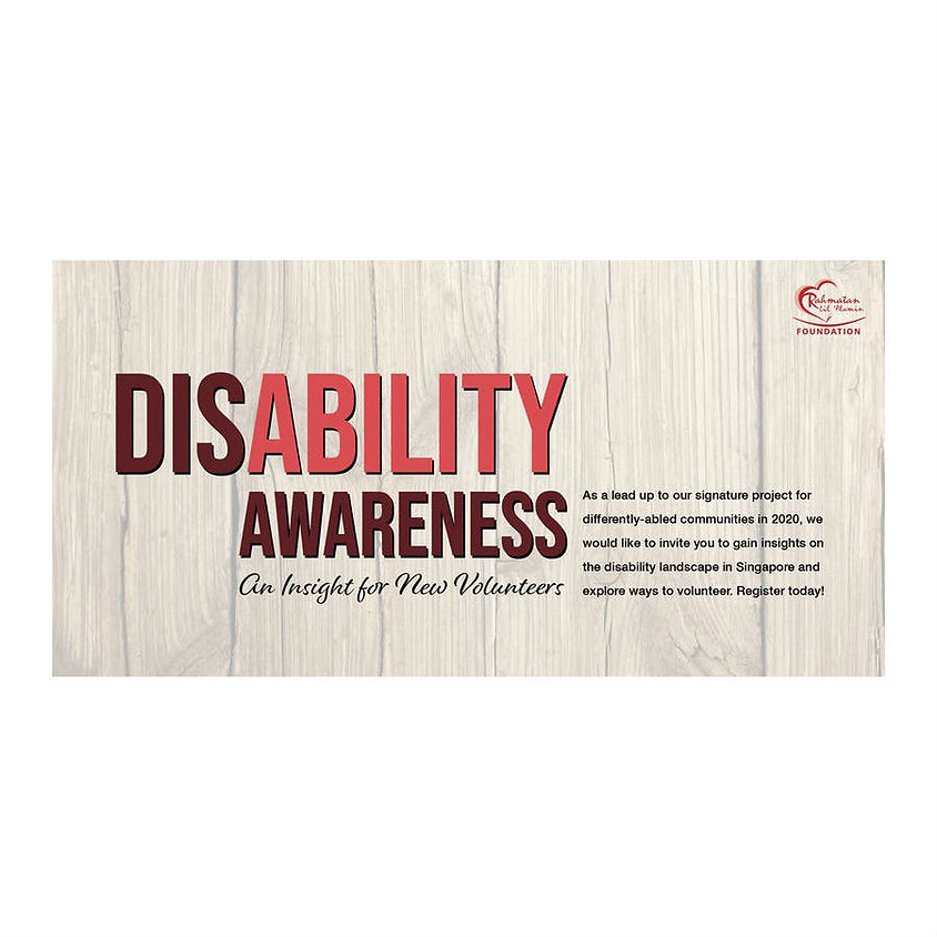 Disability Awareness Talk by Rahmatan Lil Alamin Foundation