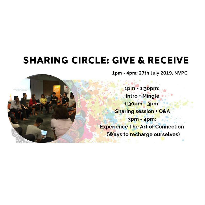 Sharing Circle: Give & Receive