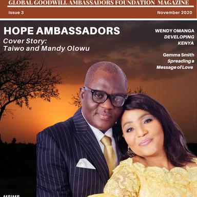 The Ambassador - Issue 3: November, 2020