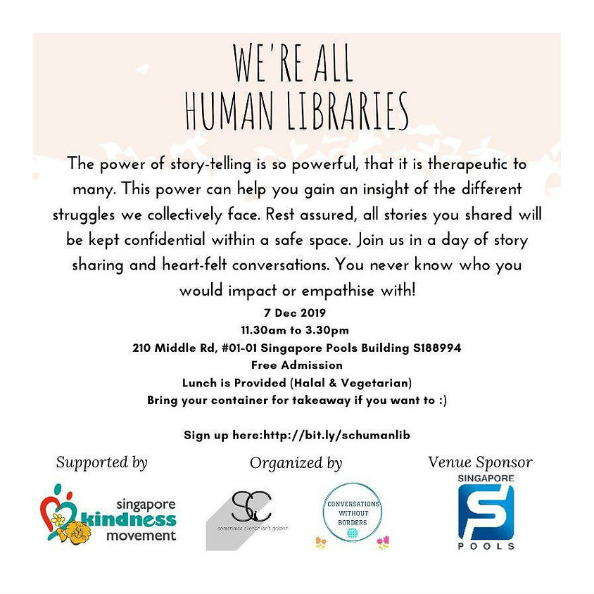 We're All Human Libraries