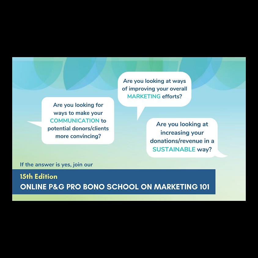 P&G Pro Bono School: Marketing 101