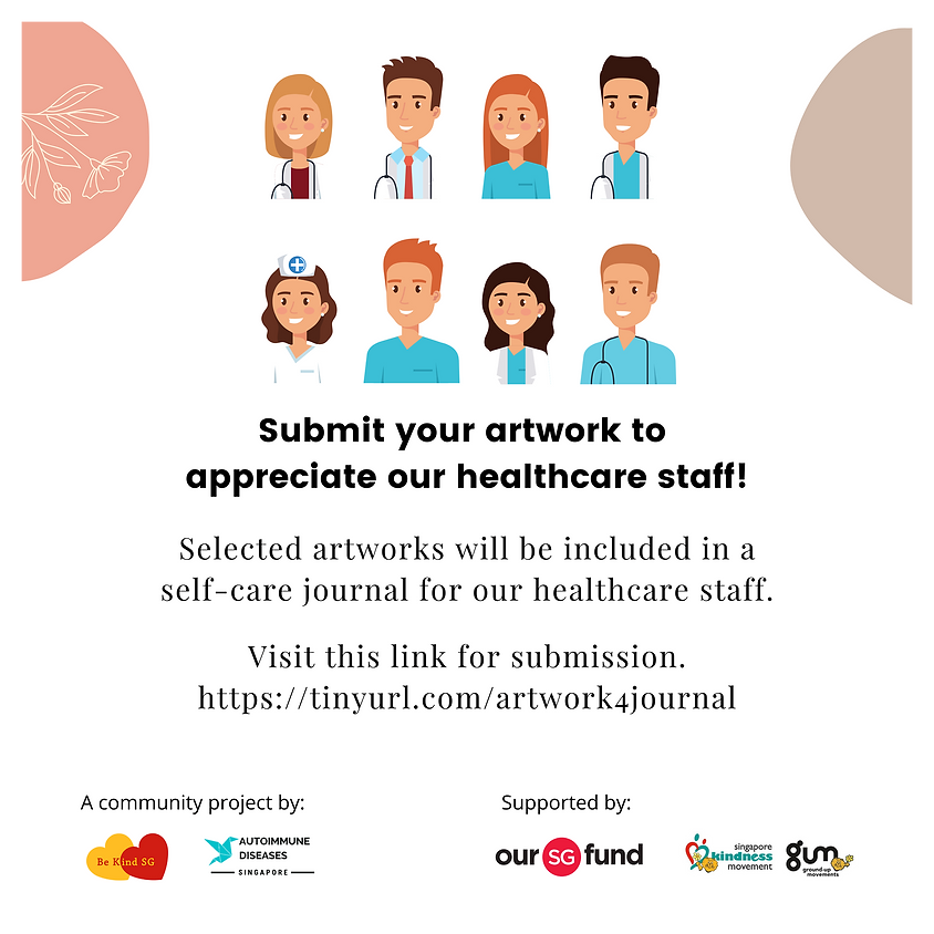 Call for Submissions: 2D Artworks for Healthcare Staff Self-care Journal