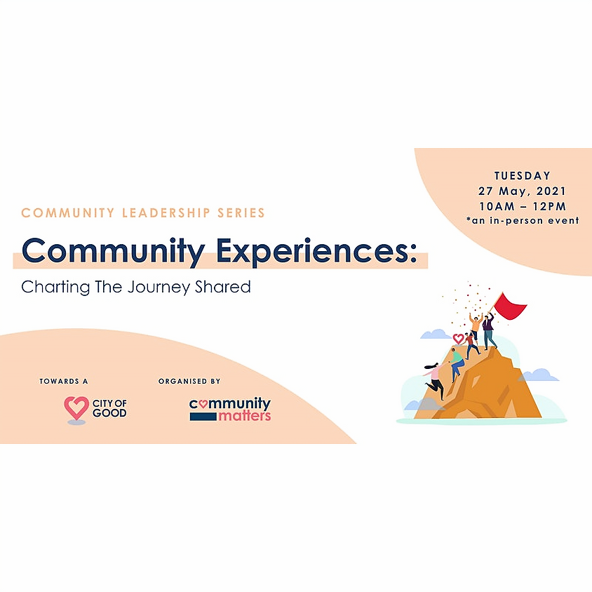 Community Experiences: Charting The Journey Shared [In-Person]
