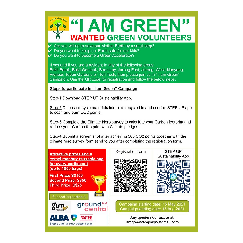 """I Am Green"" Campaign"