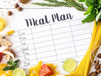Amy's Advice: Planning your Meals