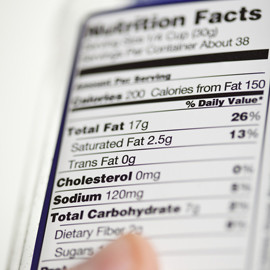 The Nutritional Facts of Diet and Weight Loss
