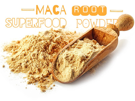 Maca root superfood powder