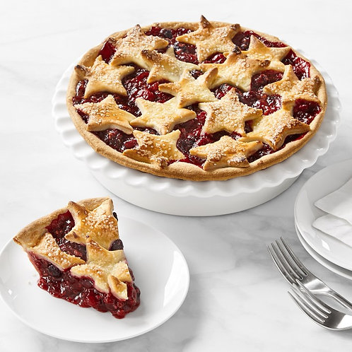 Cranberry + Cream Cheese Pie (vegan of course!)