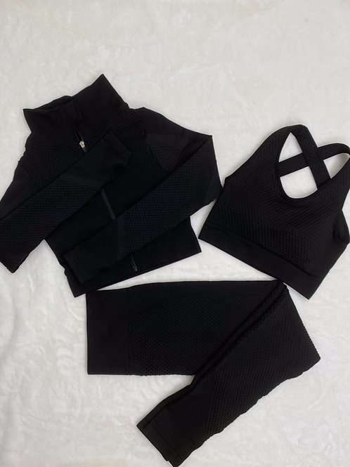 3 piece set (black)
