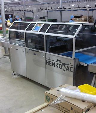запайщик лотков с газом,HENKOVAC TPS COMPACT XL,трейсилер вакуумный,упаковка в лоток с газом