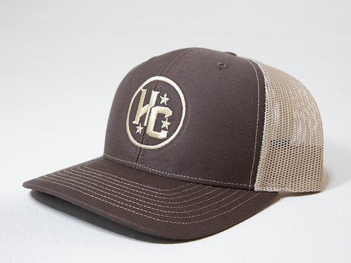 HC Cap (Brown / Tan)