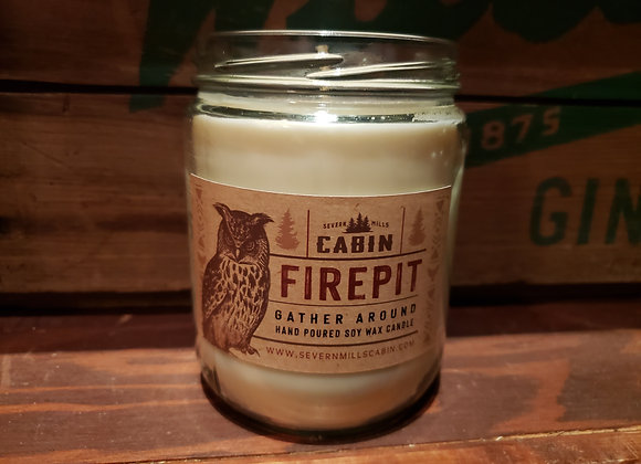 CABIN FIREPIT CANDLE