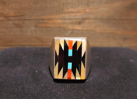 Dishta Zuni Multistone Ring 12.75