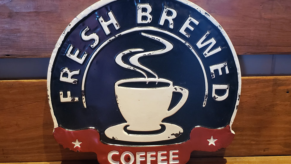 COFFEE SIGN TIN