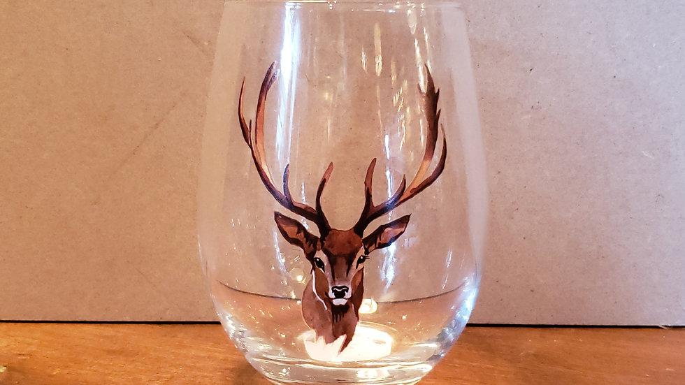 DEER STEMLESS GLASS