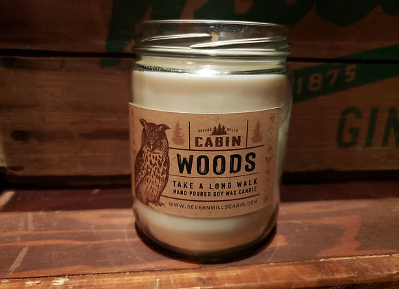 CABIN WOODS CANDLE