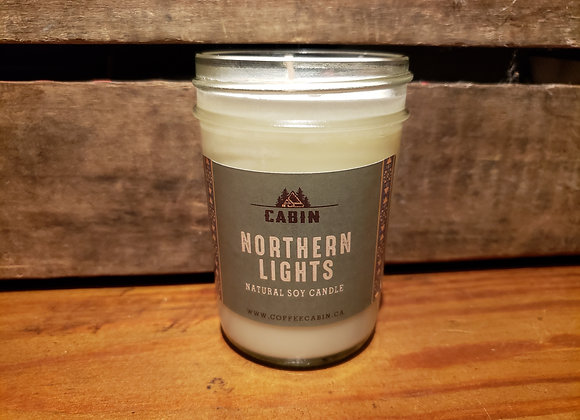 CABIN NORTHERN LIGHTS CANDLE