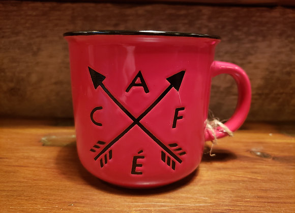 MUG CAFE ARROWS