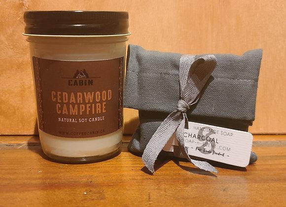 CANDLE & SOAP MINI GIFT KIT