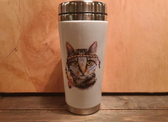 Boho Cat Thermos