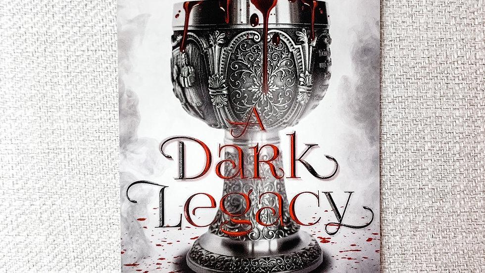 A Dark Legacy book plate