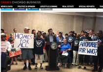 Crains Chicago:  Aldermen seek to Address Affordable Housing, Segregation