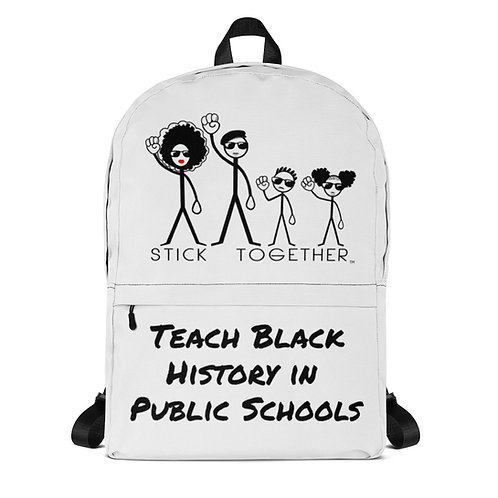 Teach Black History Backpack