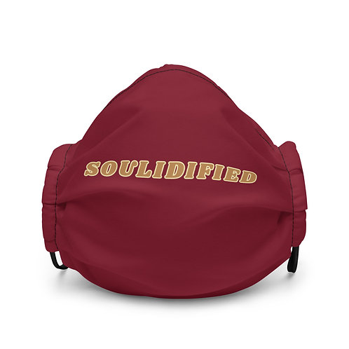 Soulidified Mask - Maroon