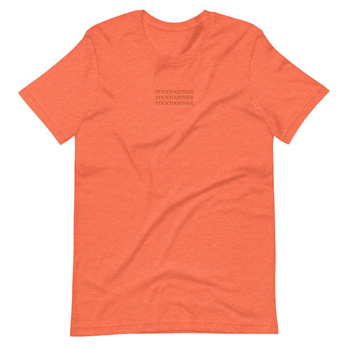 Stick Together T-Shirt - Orange