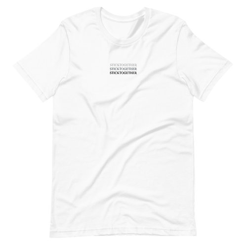 Stick Together T-Shirt - White