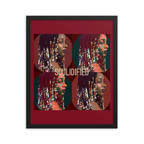 Soulidified Framed Matte Print