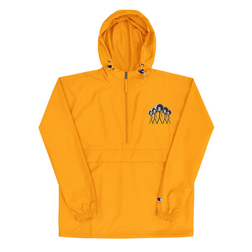Embroidered Champion Windbreaker