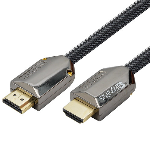 Alphaplus Braided Nylon Premium HDMI 2.0 Cable with Ethernet - 2 Metre