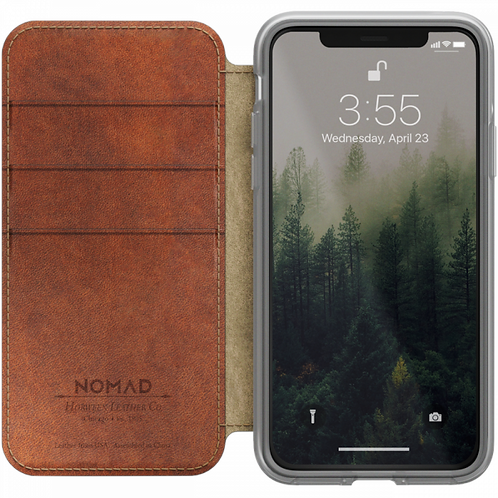 Nomad Clear Folio - iPhone X
