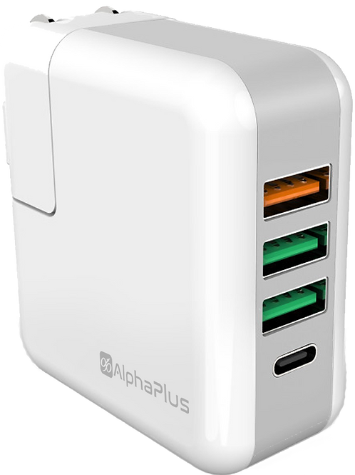 Alphaplus QC 3.0 Travel Charger with Type-C port