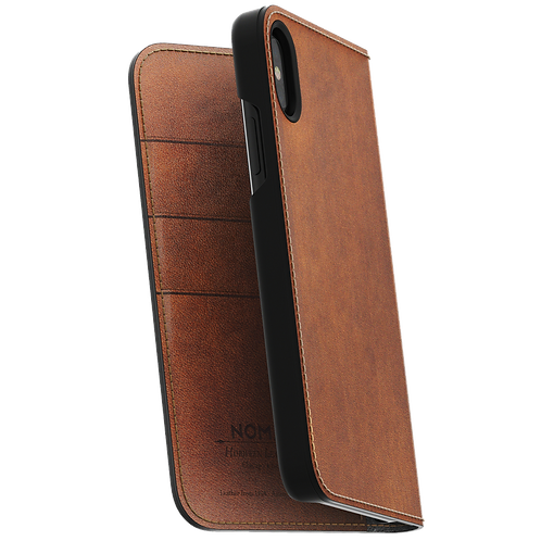 Nomad Leather Folio - iPhone X